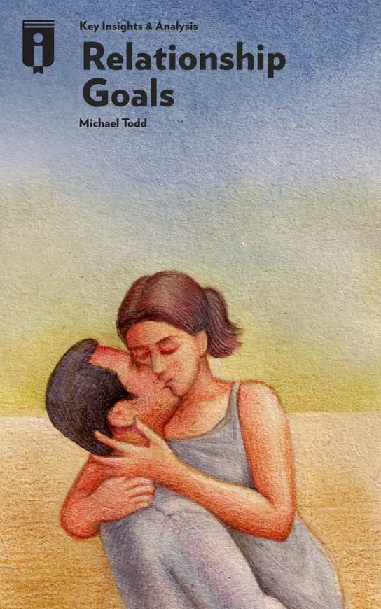 """Book Cover for """"Relationship Goals"""""""