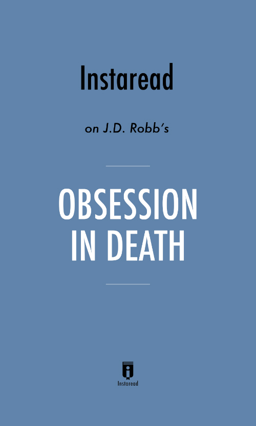 "Book Cover for ""Obsession in Death"""