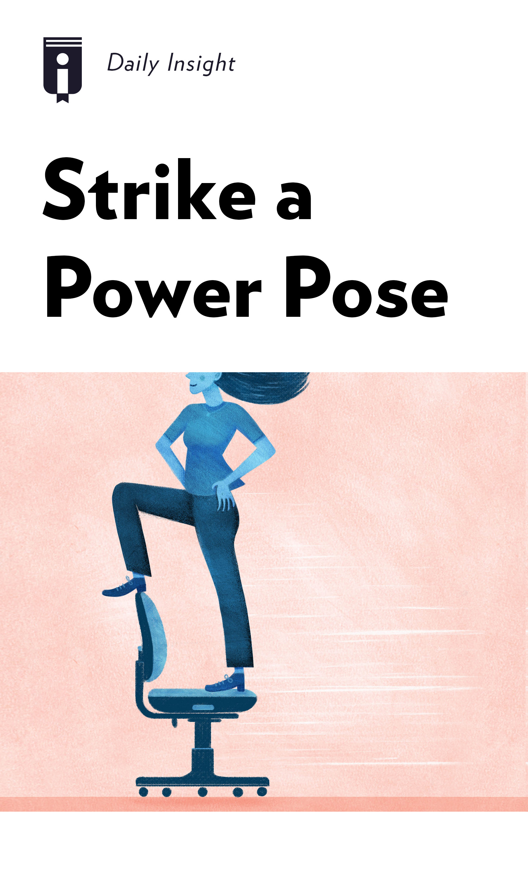 "Book Cover for ""Strike a Power Pose"""