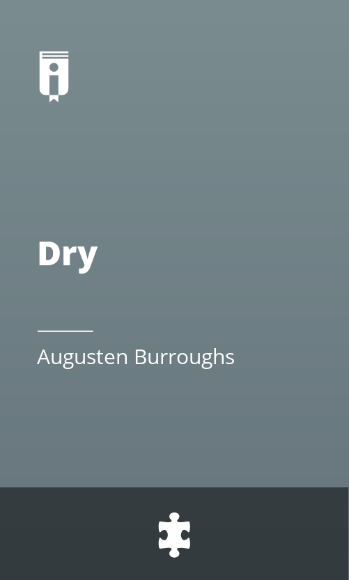 """Book Cover for """"Dry"""""""