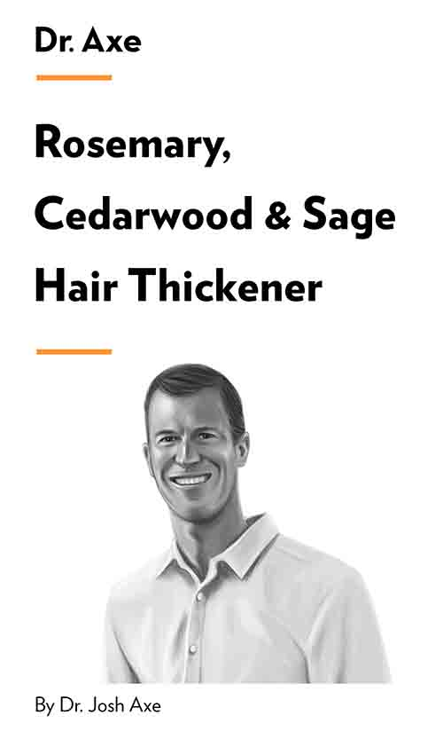 "Book Cover for ""Rosemary, Cedarwood & Sage Hair Thickener"""