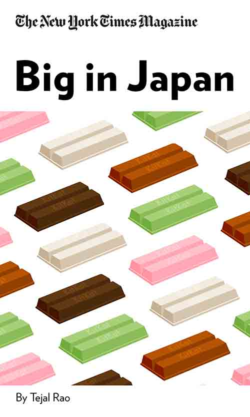 """Book Cover for """"Big in Japan"""""""