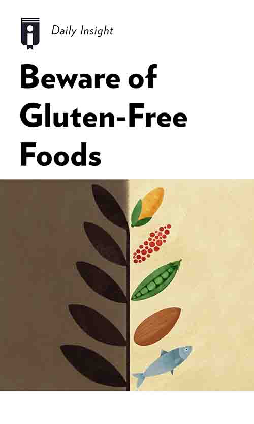 "Book Cover for ""Beware of Gluten-Free Foods"""