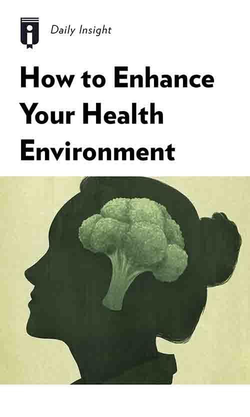 "Book Cover for ""How to Enhance Your Health Environment"""