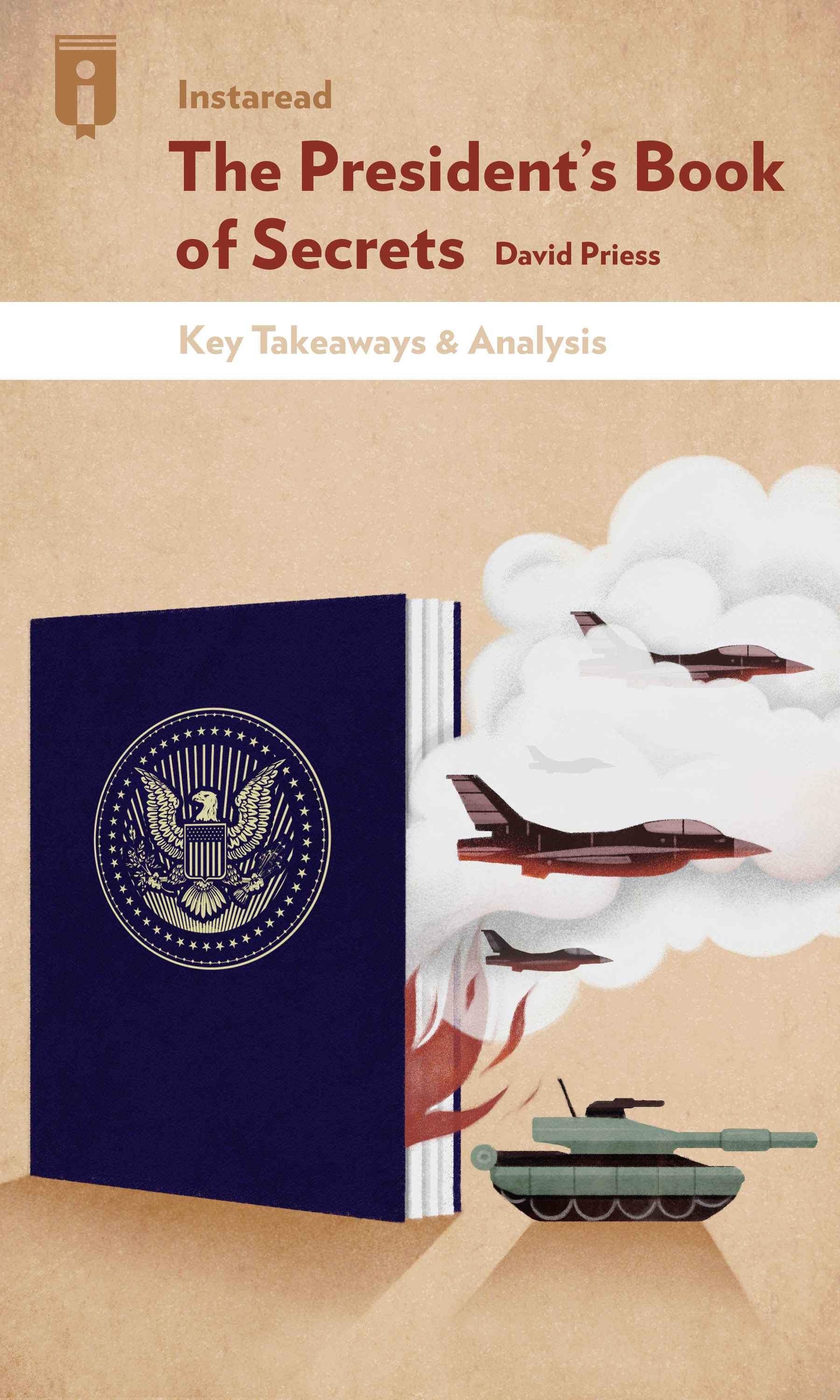 """Book Cover for """"The President's Book of Secrets"""""""