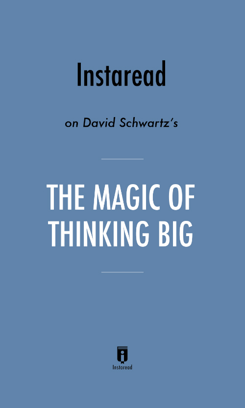 "Book Cover for ""The Magic of Thinking Big"""