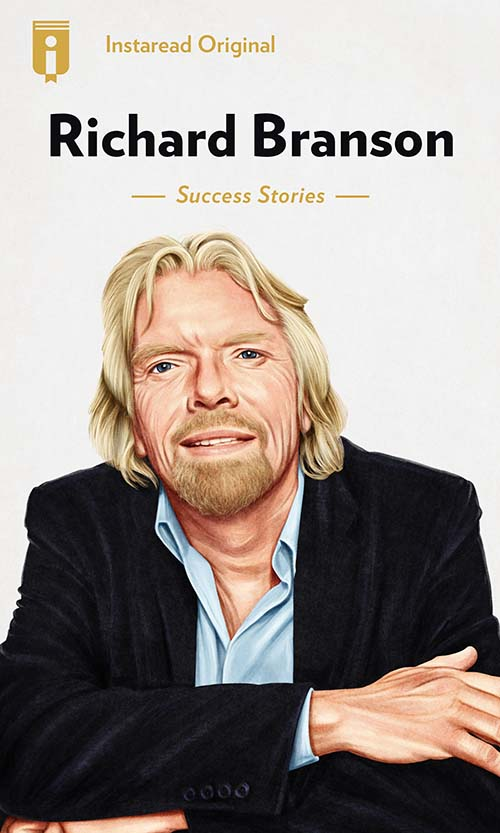 "Book Cover for ""Richard Branson"""
