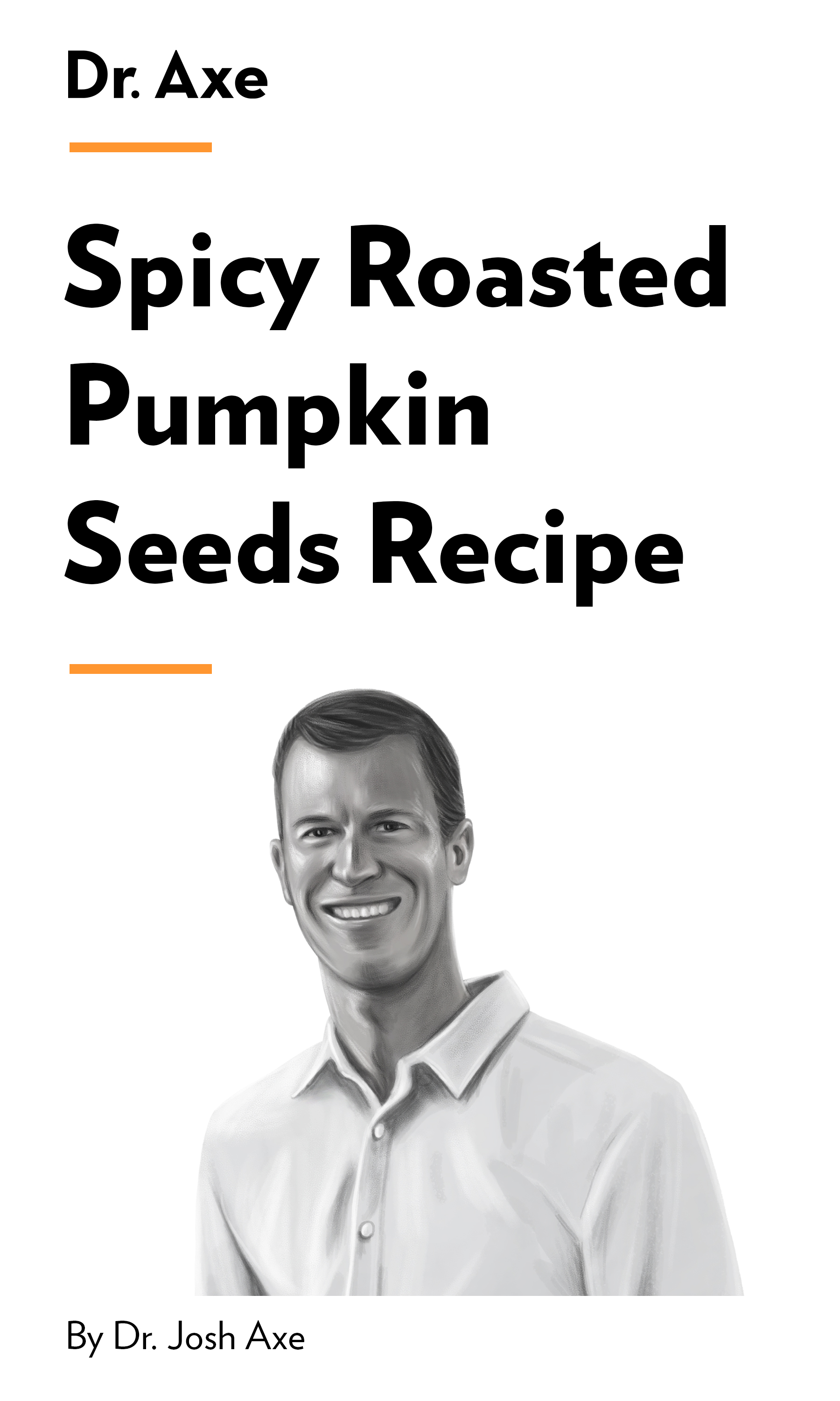 """Book Cover for """"Spicy Roasted Pumpkin Seeds Recipe"""""""