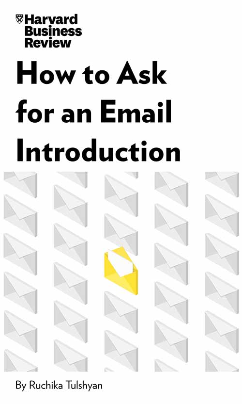 "Book Cover for ""How to Ask for an Email Introduction"""