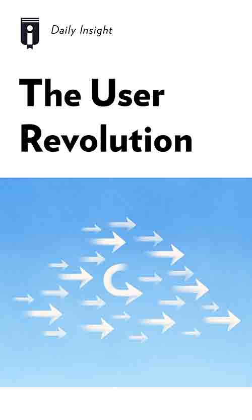 "Book Cover for ""The User Revolution"""