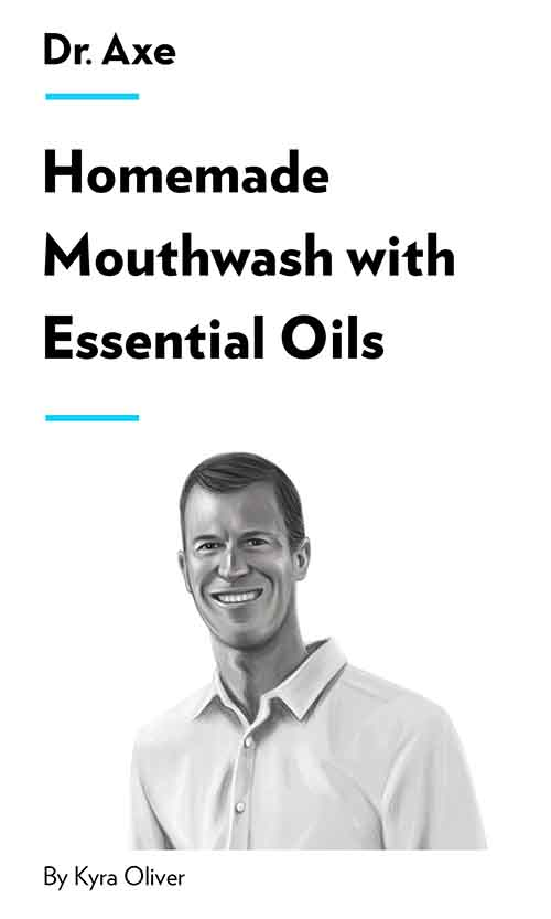 "Book Cover for ""Homemade Mouthwash with Essential Oils"""