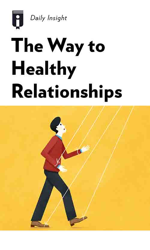 "Book Cover for ""The Way to Healthy Relationships"""