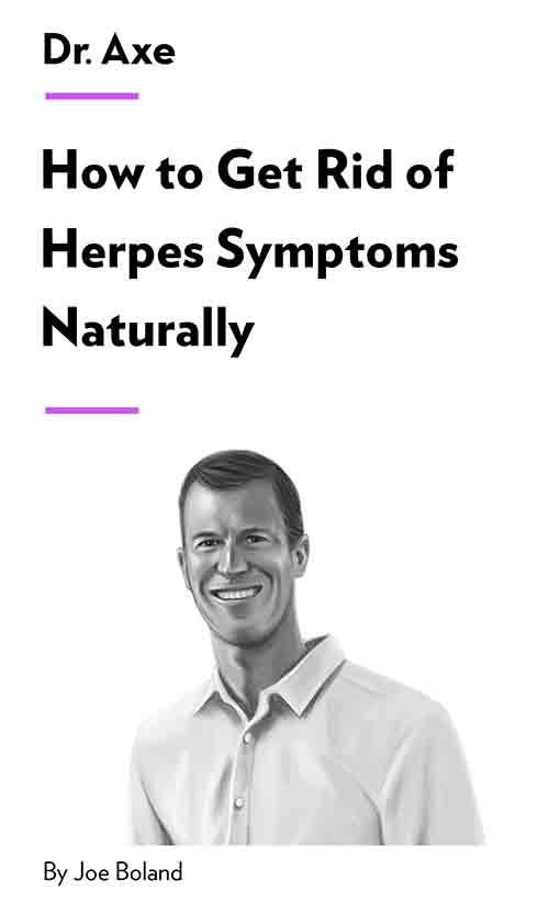 "Book Cover for ""How to Get Rid of Herpes Symptoms Naturally"""