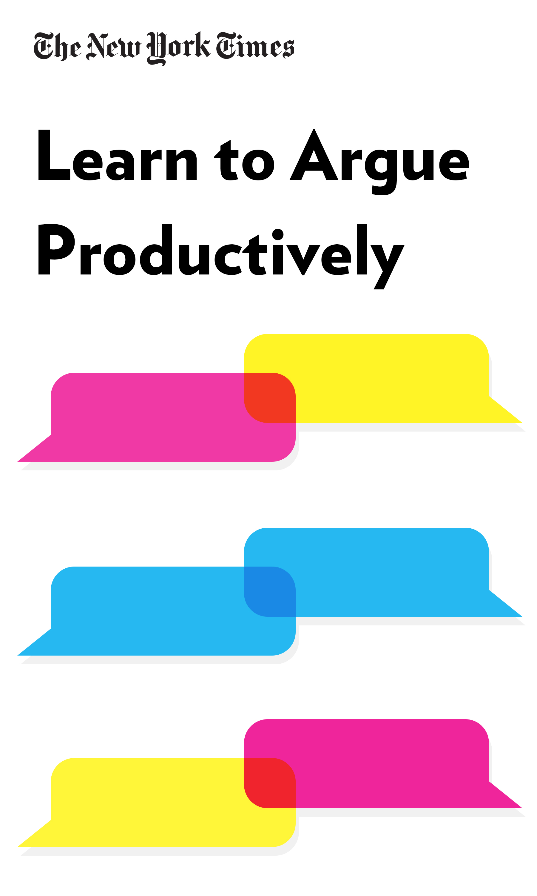 """Book Cover for """"Learn to Argue Productively"""""""