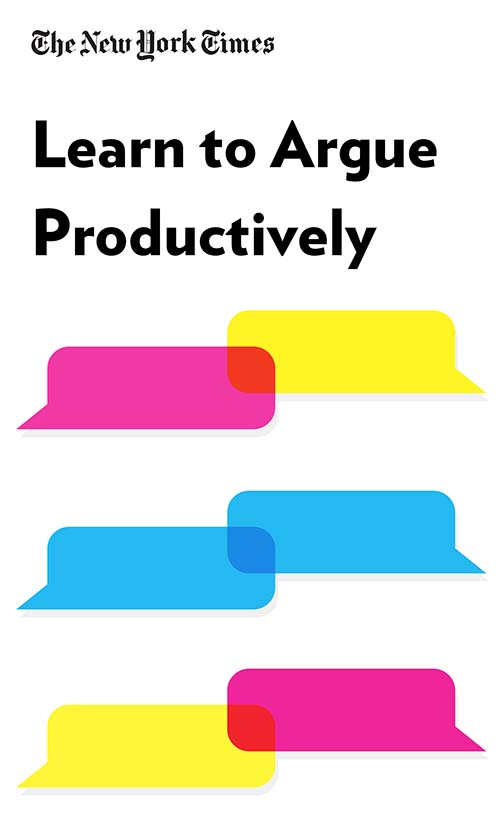 "Book Cover for ""Learn to Argue Productively"""