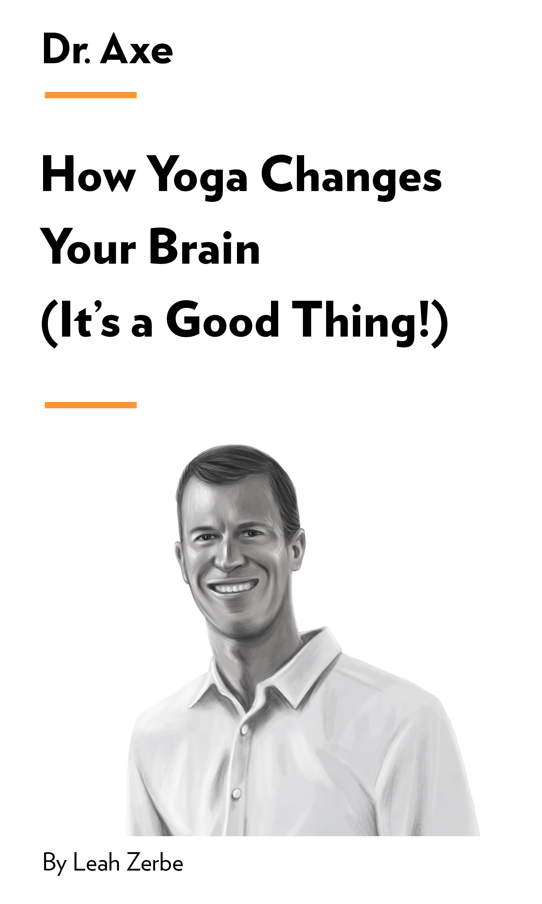 """Book Cover for """"How Yoga Changes Your Brain (It's a Good Thing!)"""""""