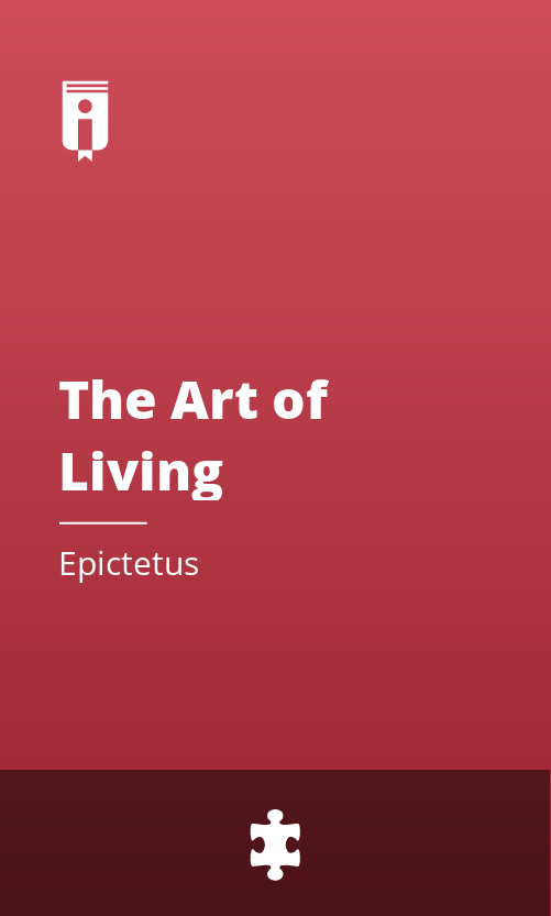 """Book Cover for """"The Art of Living"""""""