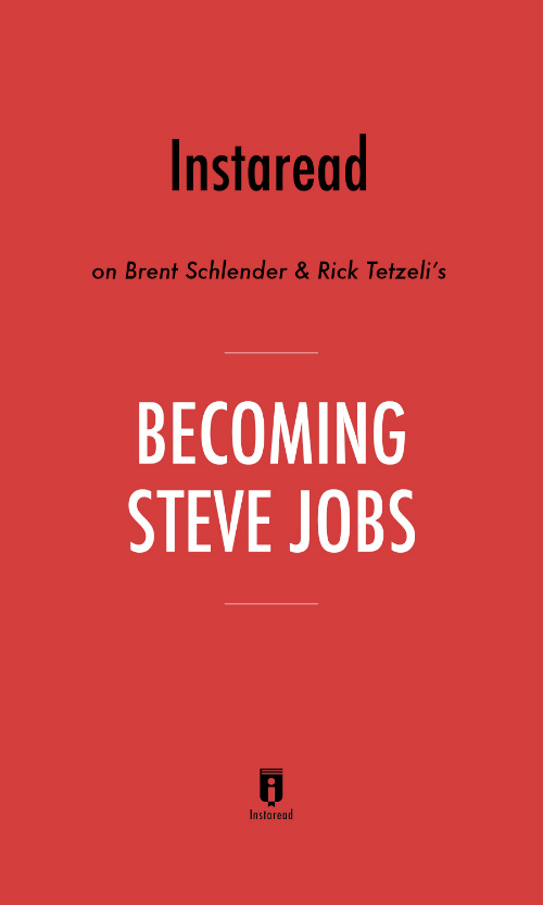 "Book Cover for ""Becoming Steve Jobs"""