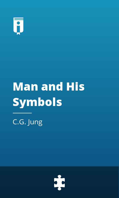 """Book Cover for """"Man and His Symbols"""""""