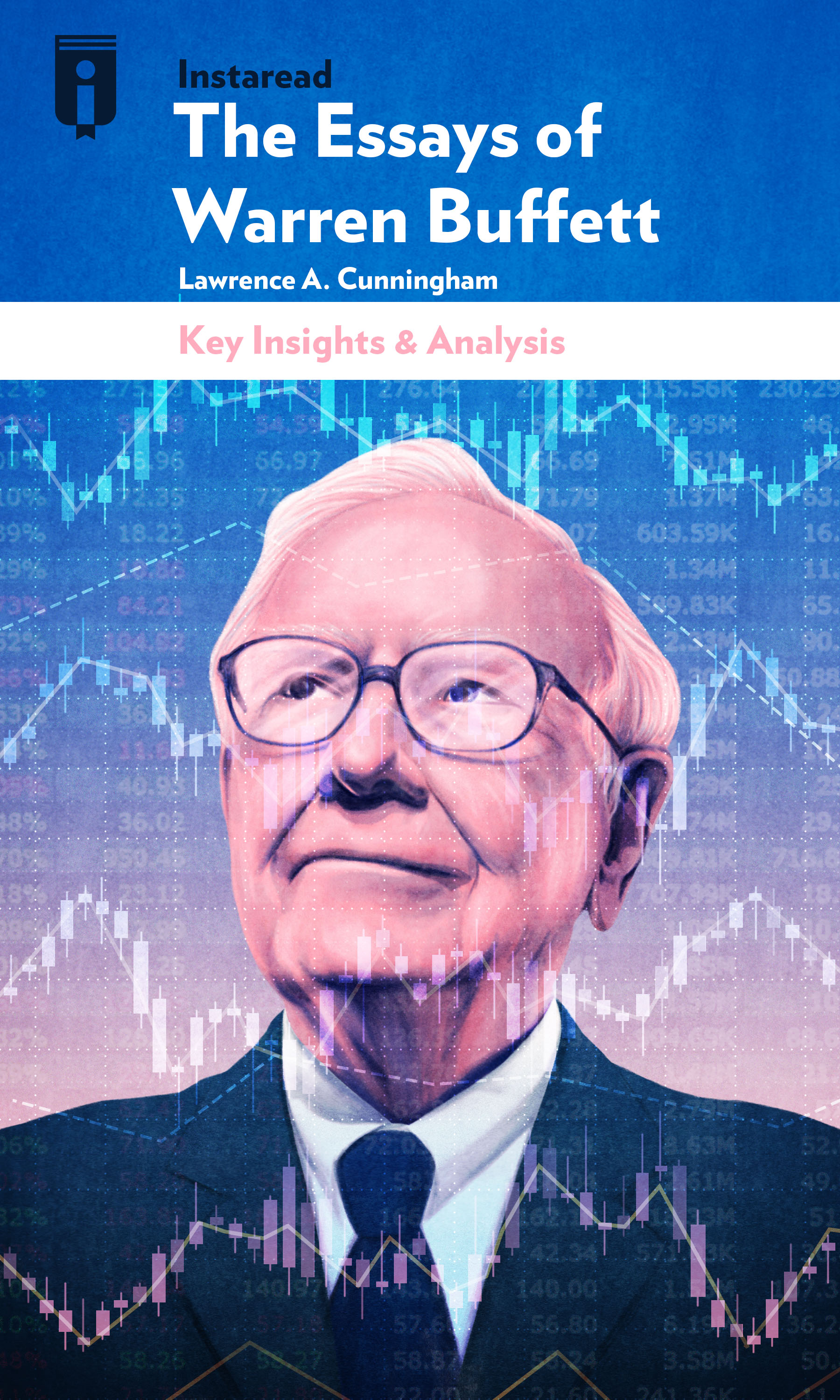 "Book Cover for ""The Essays of Warren Buffett"""