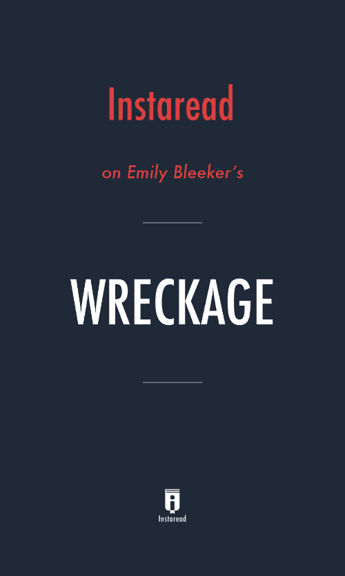 "Book Cover for ""Wreckage"""
