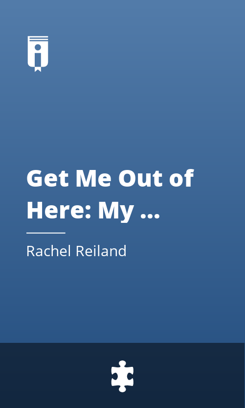 "Book Cover for ""Get Me Out of Here: My Recovery from Borderline Personality Disorder"""