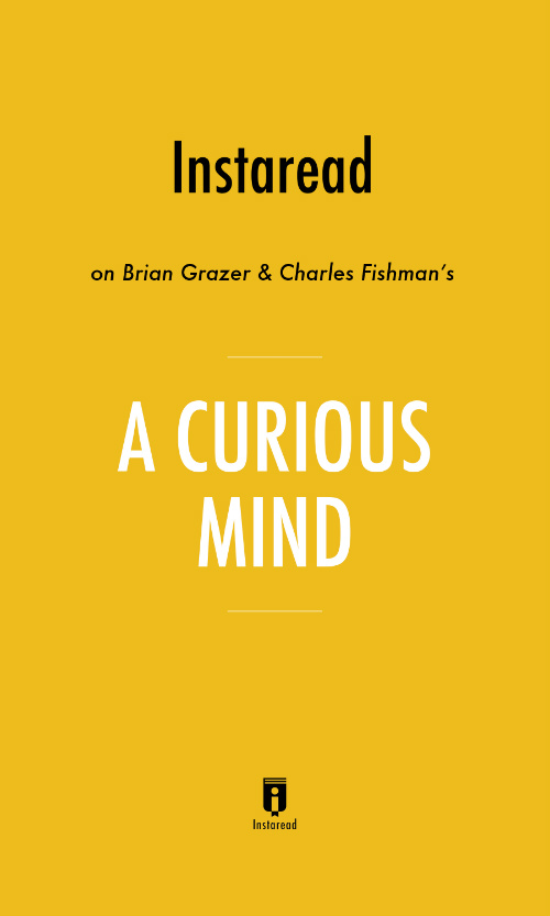 "Book Cover for ""A Curious Mind"""