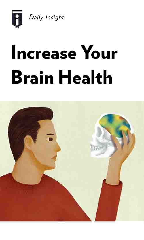 "Book Cover for ""Increase Your Brain Health"""