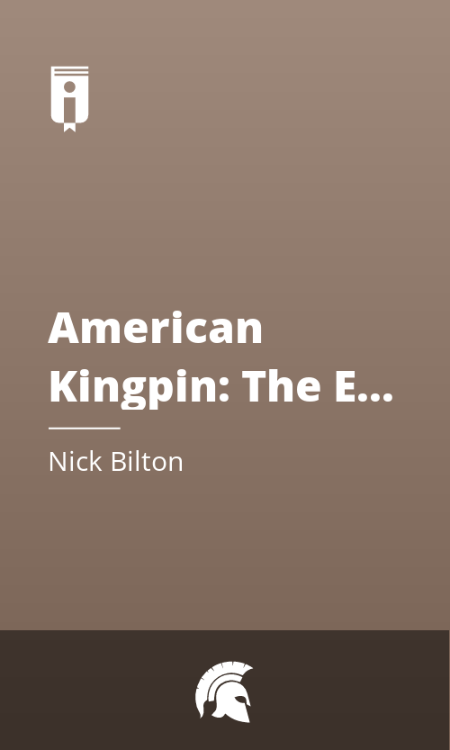 """Book Cover for """"American Kingpin: The Epic Hunt for the Criminal Mastermind Behind the Silk Road"""""""