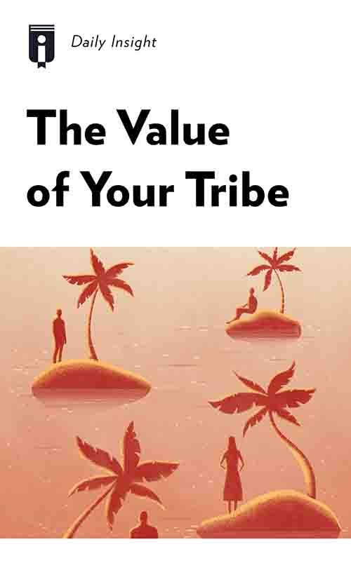 "Book Cover for ""The Value of Your Tribe"""