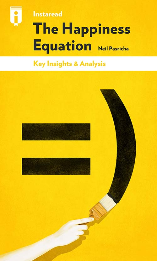 """Book Cover for """"The Happiness Equation"""""""