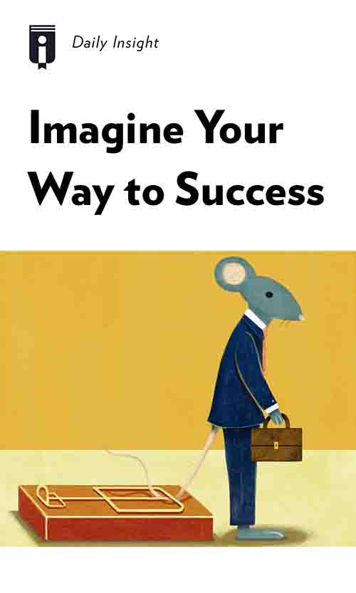 "Book Cover for ""Imagine Your Way to Success"""