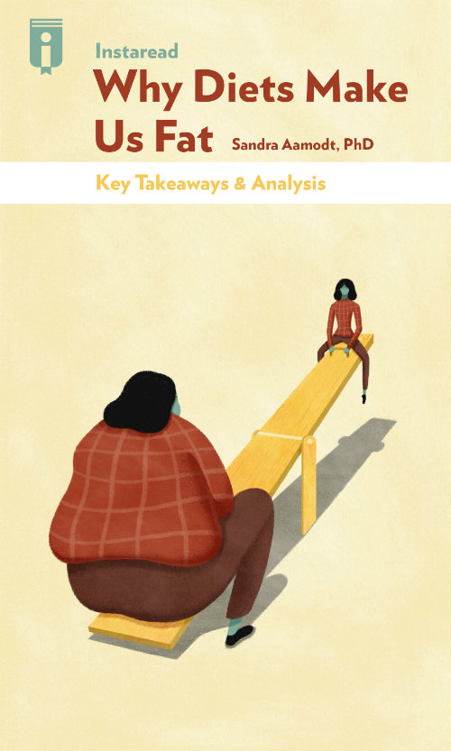 "Book Cover for ""Why Diets Make Us Fat"""
