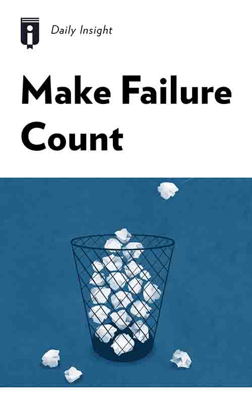 "Book Cover for ""Make Failure Count"""