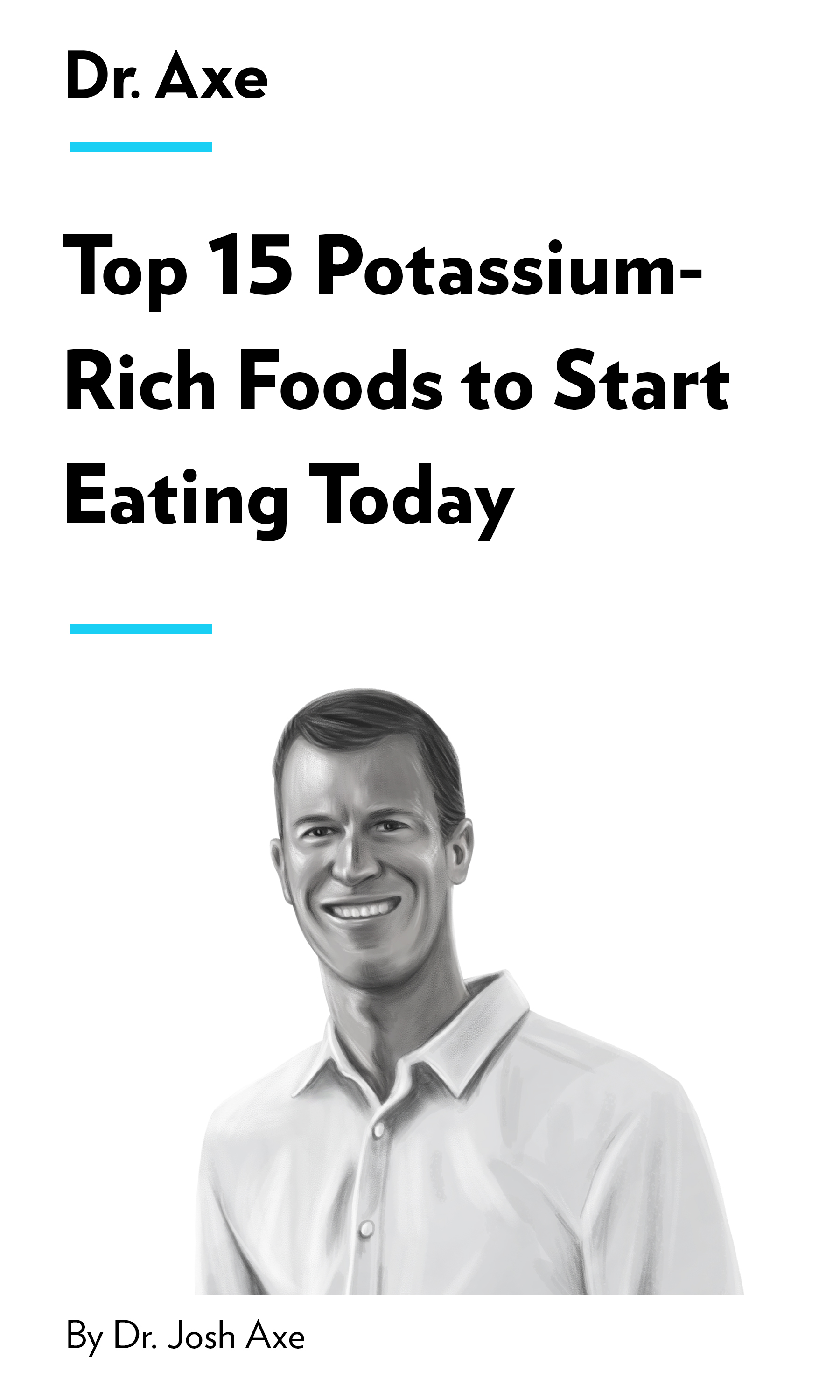 """Book Cover for """"Top 15 Potassium-Rich Foods to Start Eating Today"""""""