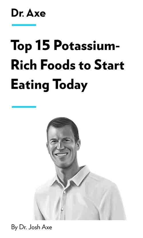 "Book Cover for ""Top 15 Potassium-Rich Foods to Start Eating Today"""