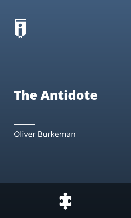 """Book Cover for """"The Antidote"""""""
