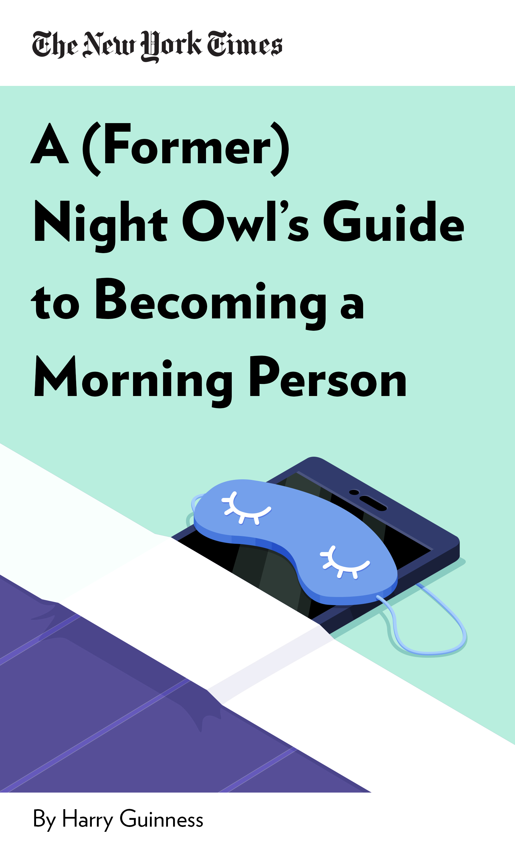 """Book Cover for """"A (Former) Night Owl"""