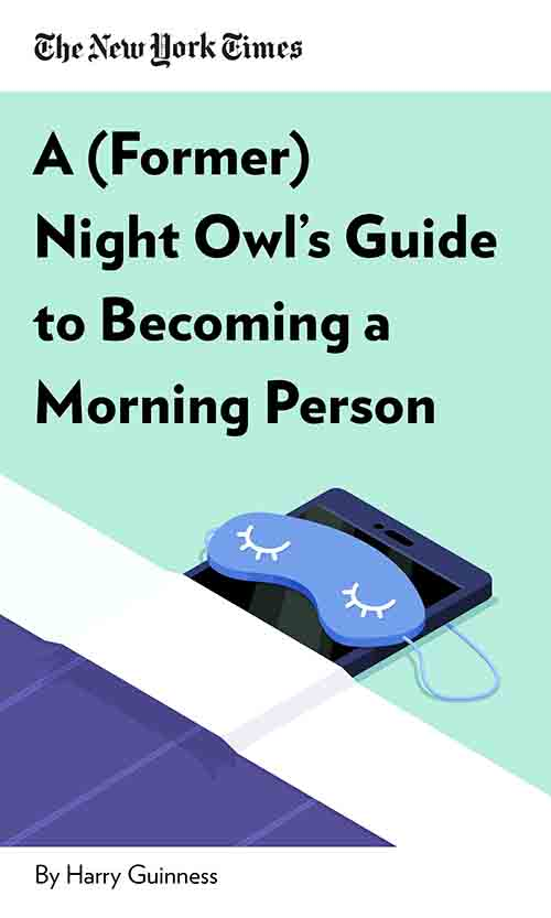"Book Cover for ""A (Former) Night Owl"