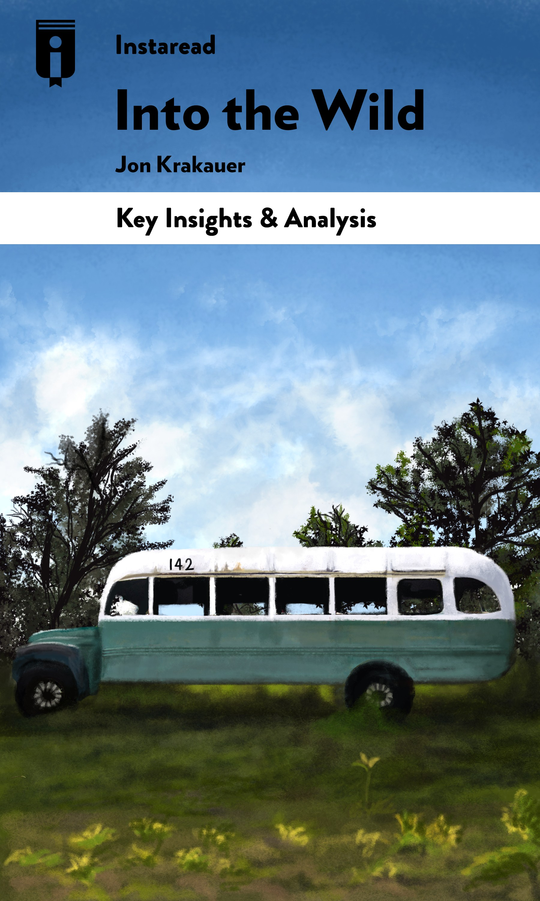 """Book Cover for """"Into the Wild"""""""