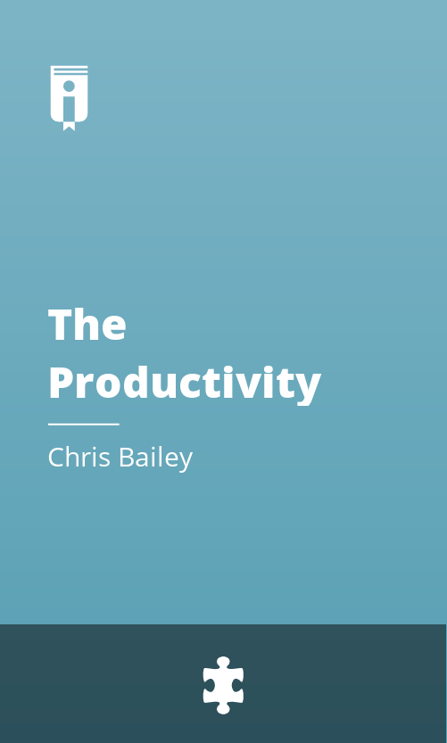 """Book Cover for """"The Productivity Project"""""""