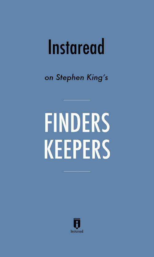 "Book Cover for ""Finders Keepers"""