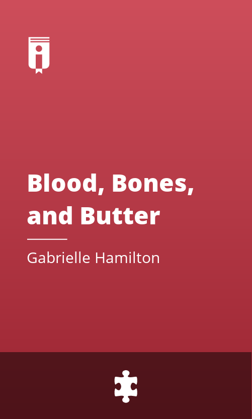 """Book Cover for """"Blood, Bones, and Butter"""""""