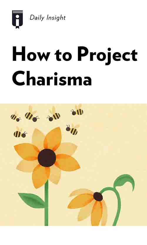 "Book Cover for ""How to Project Charisma"""