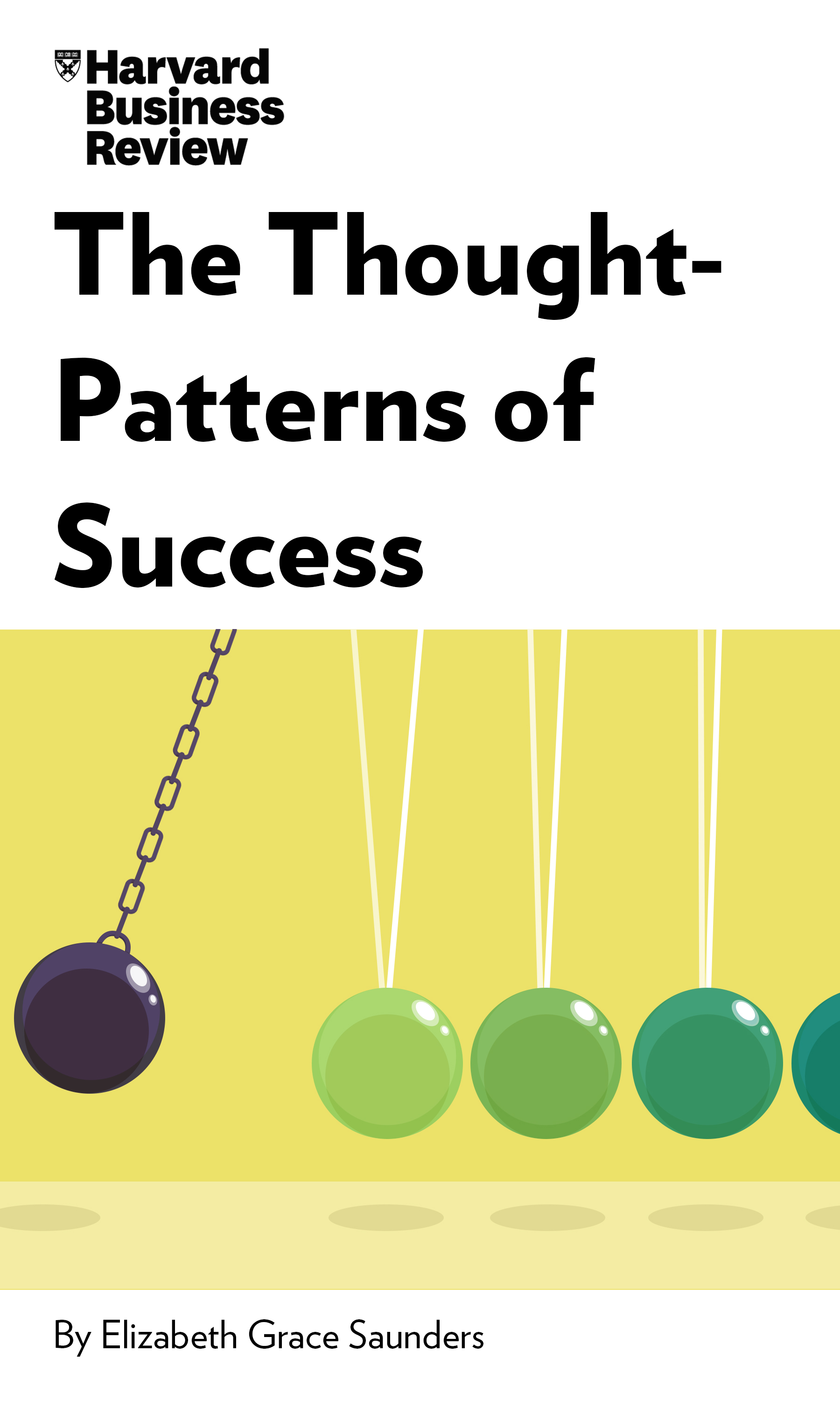 "Book Cover for ""The Thought-Patterns of Success"""
