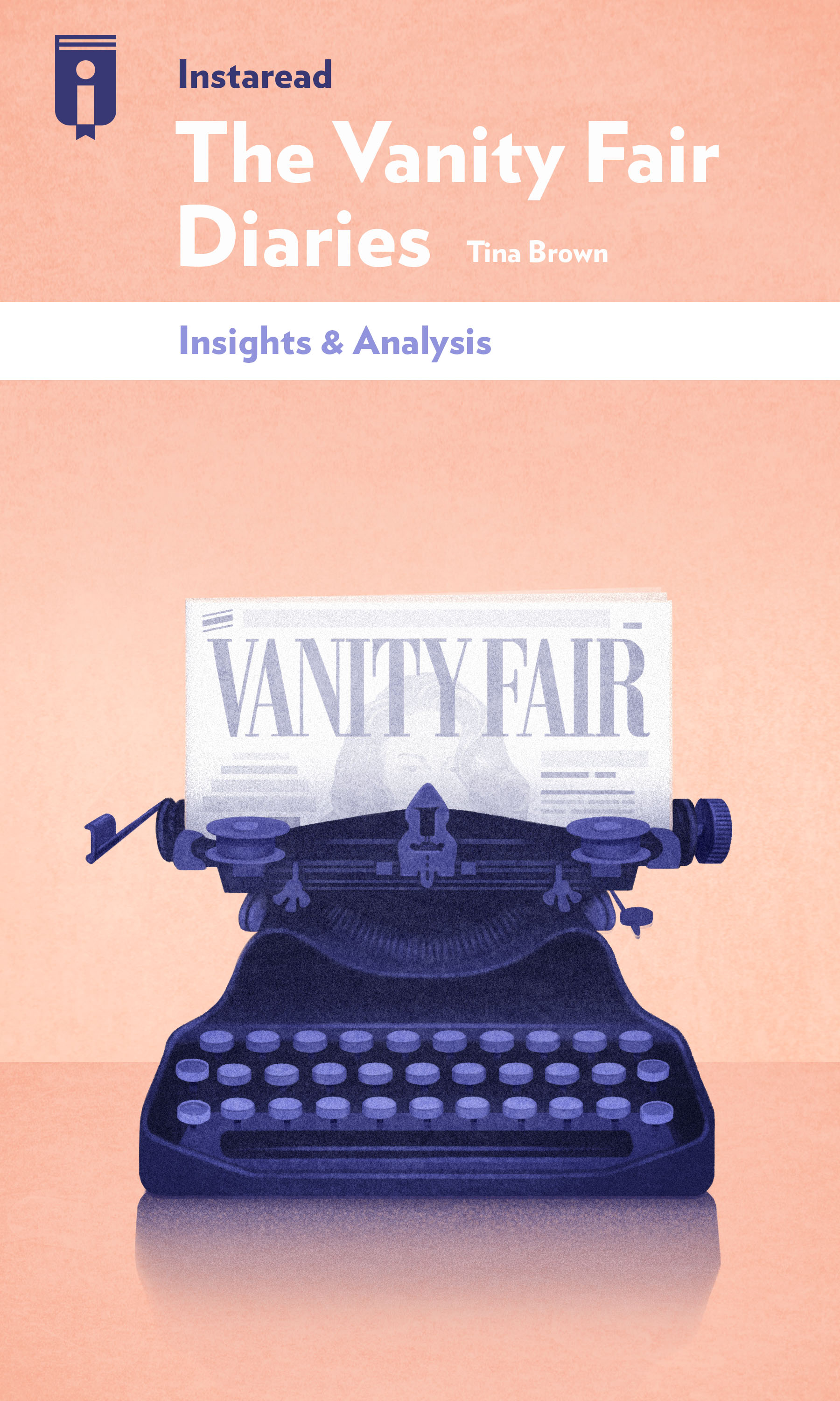 """Book Cover for """"The Vanity Fair Diaries"""""""