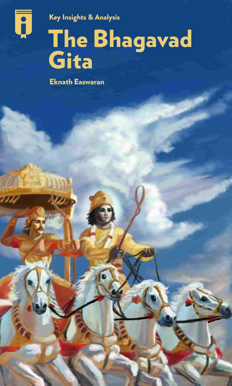 "Book Cover for ""The Bhagavad Gita"""