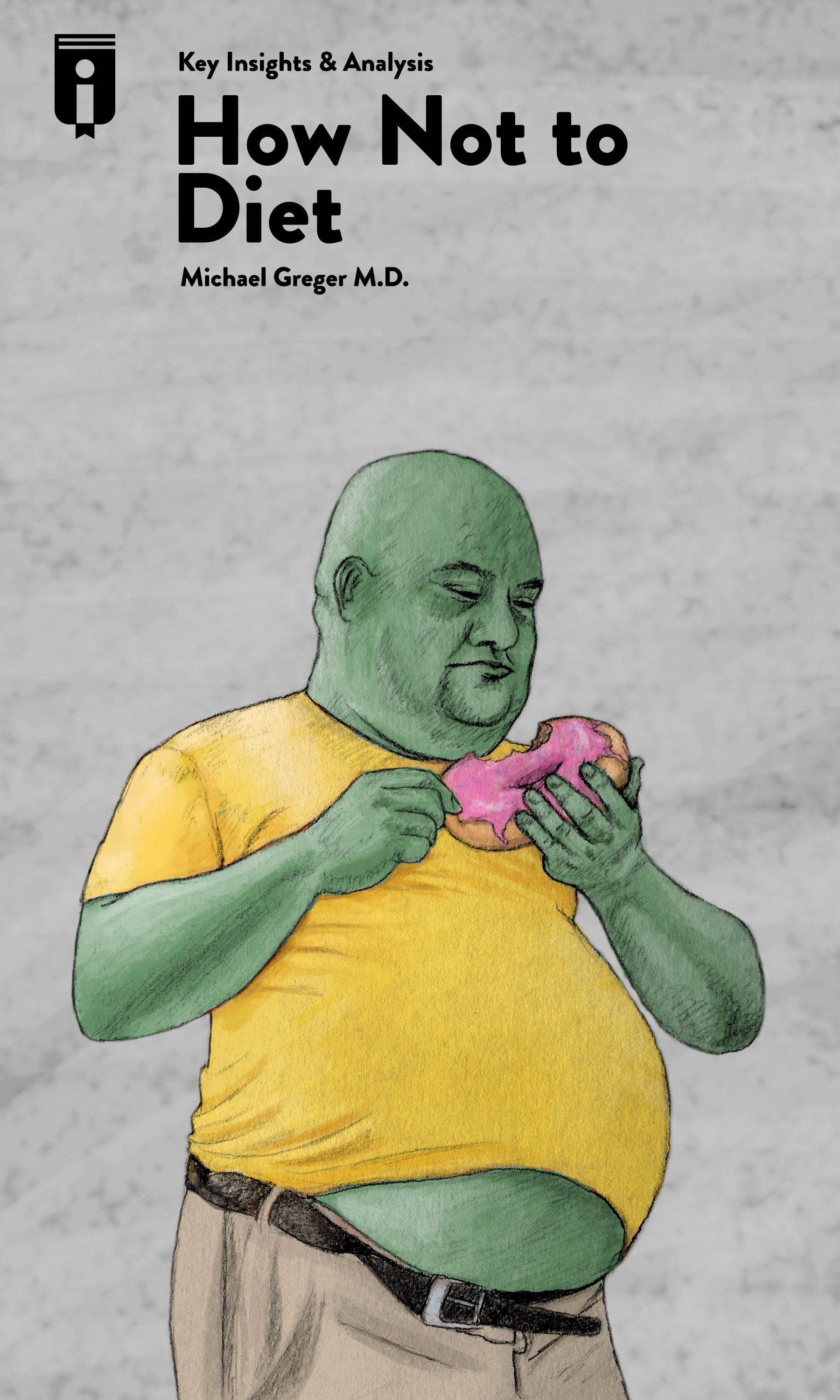 """Book Cover for """"How Not to Diet"""""""