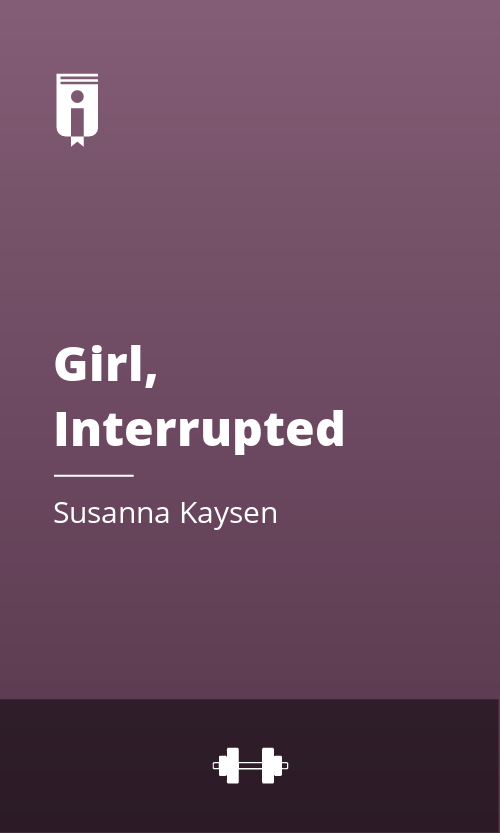 """Book Cover for """"Girl, Interrupted"""""""