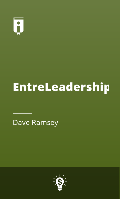 "Book Cover for ""EntreLeadership"""